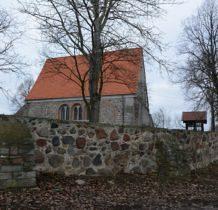 Będargowo-kościół wielokrotnie przebudowywany