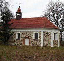 Bobolin- kościół z kamieni narzutowych