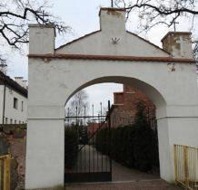 Dobra ( Szczecińska )- brama kościelna