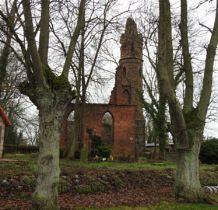 Karwowo-ruiny kościoła z ok.1250 roku