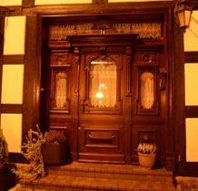 Nowe Warpno- drzwi Mariny