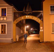 Nowe Warpno- Aleja Żeglarzy prowadzaca do Portu Jachtowego