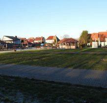 Nowe Warpno-widok z promenady na Wioskę Żeglarska