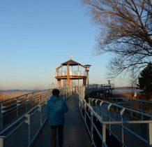 Nowe Warpno-promenada docieramy do wieży widokowej
