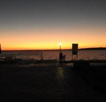 Nowe Warpno-zachód słońca