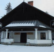 Czorsztyn- pawilon wystawowy PPN