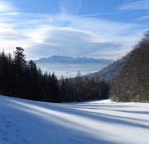 Tatry z Przełęczy Szopka