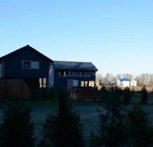 Podgrodzie- niebieskie domki