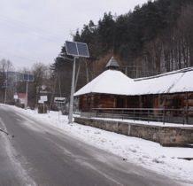 Żegiestów-czarnym szlakiem przez wioskę
