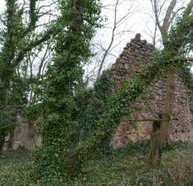Smolęcin-ruiny kościoła