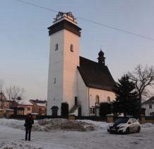 Krempachy-docieramy o 7.46,wita nas -18 stopni-kościół św.Marcina