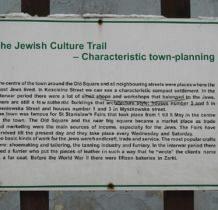 Żarki- trakt żydowski