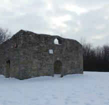 Żarki- ruiny kościoła św. Stanoisława na wzgórzu Laskowiec