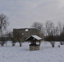 Żarki- ruiny kościoła św. Stanisława