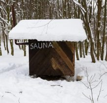 Wisłoczek- sauna w bazie namiotowej