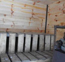 Wisłoczek- sauna w środku