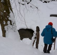 Wisłoczek- zejście do wodospadu