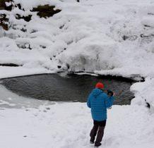 Wisłoczek-zostało małe jeziorko