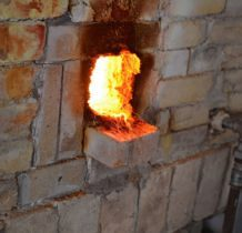 Zawiercie-piece wyłożone ogniotrwała glina