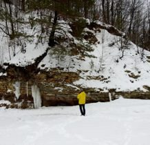 Rudawka Rymanowska-małe lodospady