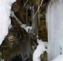 Wisłoczek-lodowe rzeźby