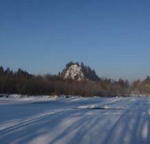 za rzeka Obłazowa-to już Kotlina Orawsko-Nowotarska