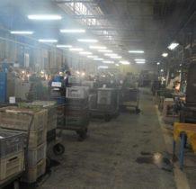 Zawiercie-jedna z hal produkcyjnych