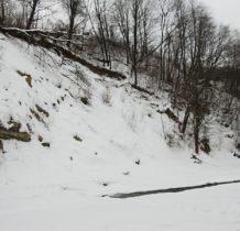 Rudawka Rymanowska-miejsce gdzie Wisłok płynie najbliżej drogi