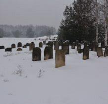 Żarki-trzeci żarkowski cmentarz żydowski
