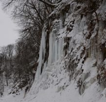 Rudawka Rymanowska-lodospad