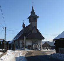 Dursztyn-kościół z lat 1896-1903-przebudowany w 1983r