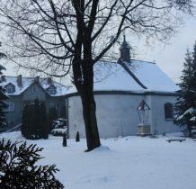 Żarki- kościół św. Barbary z końca XVII w.