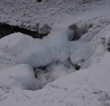 Szczawa-widok na wodospad z góry