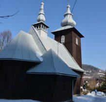 Szczawa -kościółek drewniany