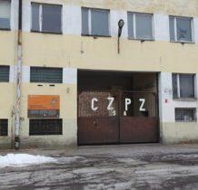Częstochowa-wejscie do Muzeum Produkcji Zapałek