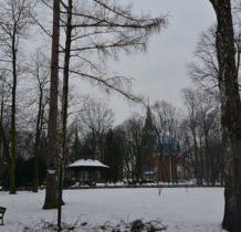 Częstochowa-Park Staszica-w tle Jasna Góra