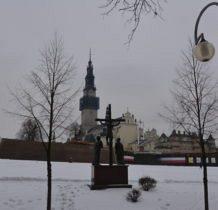 Jasna Góra-od strony parku