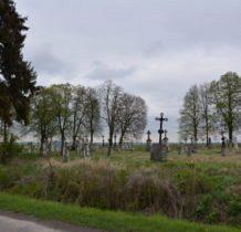 Korczmin-cmentarz,dominuja wyroby bruśnieńskie