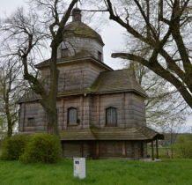 Korczmin-cerkiew do 1947 roku używana przez grekokatolików