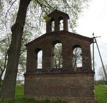 Machnówek-dzwonnica z 1938 roku-cerkiew rozebrano po wojnie