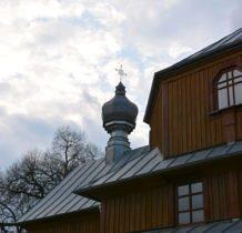 Terebiń-cerkiew jako jedyny budynek we wsi ocalał pozniszczeniach wojennych