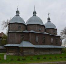 Budynin-stoi na miejcu cerkwi istniejacej już w 1774 roku