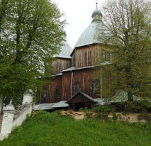 Dłużniów-cerkiew z 1882 roku jedna z największych i najwyższych w Polsce