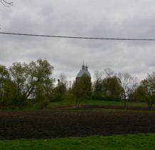 Dłużniów-cerkiew ma 27 m wysokości i 25m długości