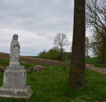 Dłużniów-przy drodze do cerkwi kamienna figura