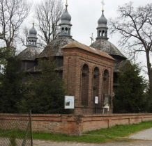 Chłopiatyn-cerkiew greckokatolicka z lat 1863-64