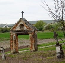 Myców-brama cmentarna