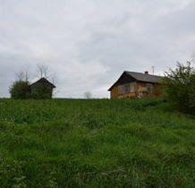 Myców-stare budynki wsi