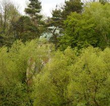 Myców-monumentalna kaplica ukryta w lesie