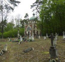 Myców-cmentarz i kaplica grobowa Hulimków